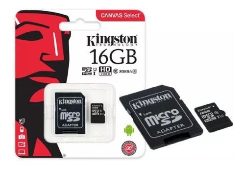 cartão de memoria microsd 16gb kingstone