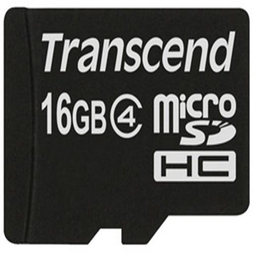 cartão de memória microsd 16gb transcend classe 4 *-*