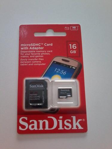 cartão de memória sandisk 16 gb lacrado