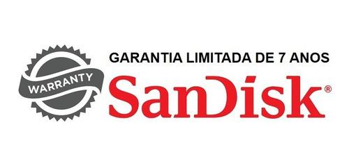 cartão de memória sandisk 32gb classe 10 original c/ nfe