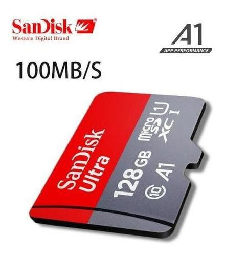 cartão de memória sandisk ultra 128gb classe 10