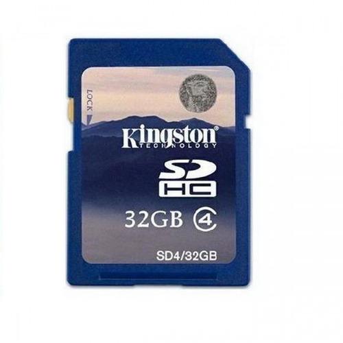 cartão de memória sd 32gb - sd4/32gb - kingston