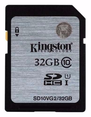 cartão de memória sd kingston 32gb sdhc classe 10 - original