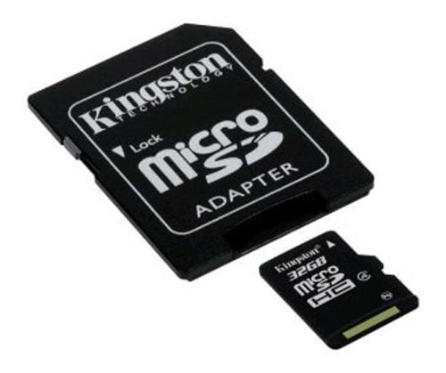 cartão de memória sdc4/32gb micro sdhc 32gb classe4-kingston