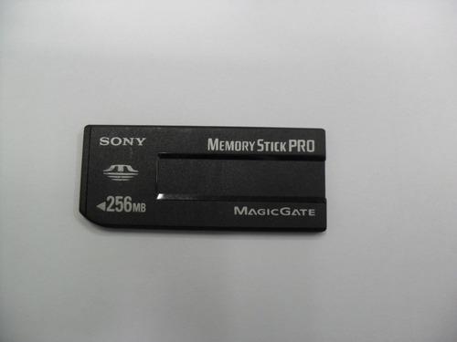 cartão de memória sony 256mb