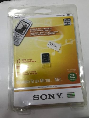 cartão de memória sony m2 2gb