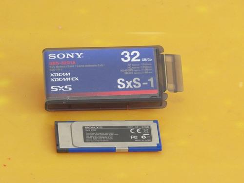 cartão de memória - sxs-1 - 32gb
