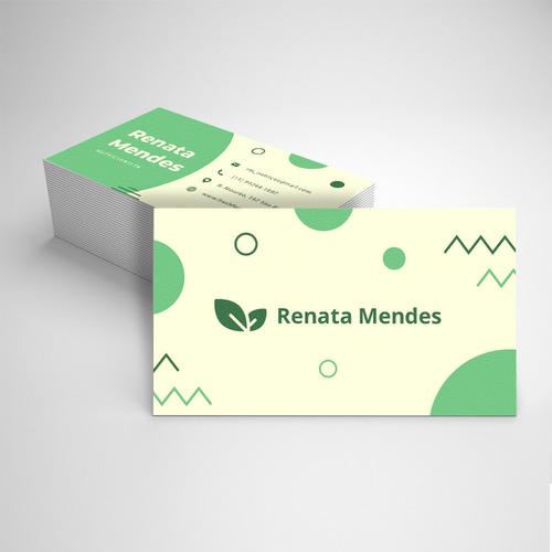 cartão de visita 4x4 1.000 unidades