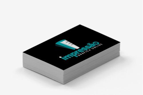 cartão de visita c300g - arte inclusa