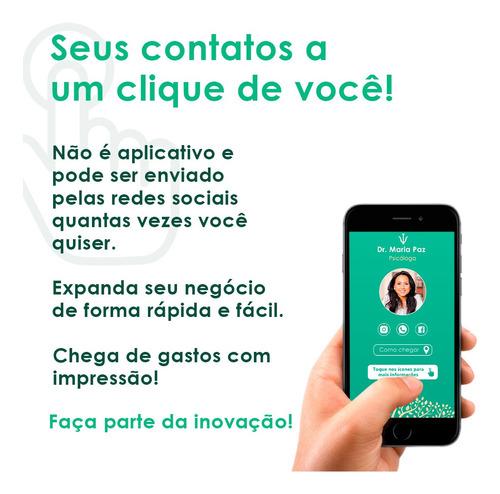 cartão de visita digital interativo (e-card)