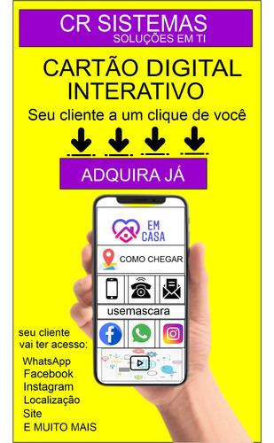 cartão de visita digital interativo e muito mais