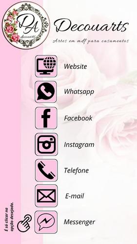 cartão de visita interativo (clicável) para whatsapp
