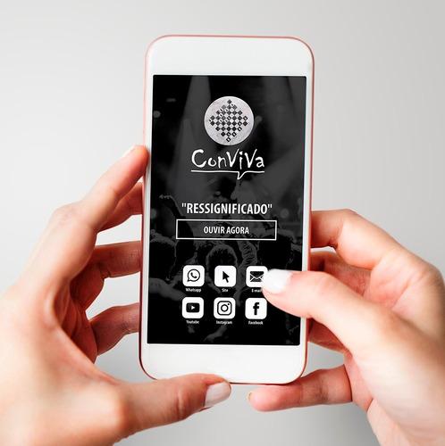 cartão de visita interativo digital