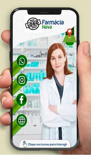 cartão de visita interativo e digital.