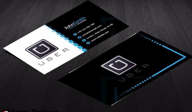 cartão de visita para uber preço promocional r 8 00 em mercado