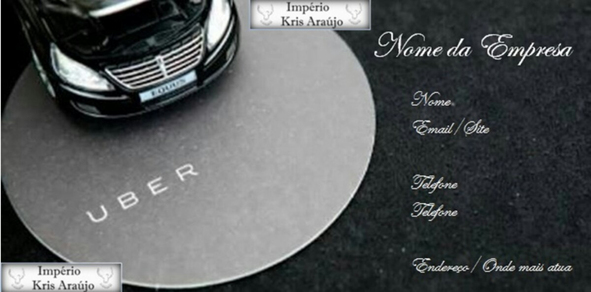 Cartao De Visita Super Uber R