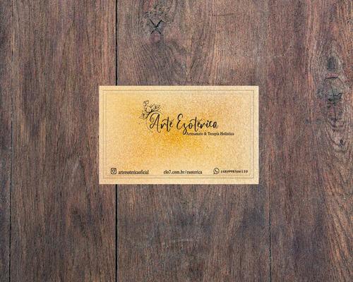 cartão de visitas - design e criação de logo
