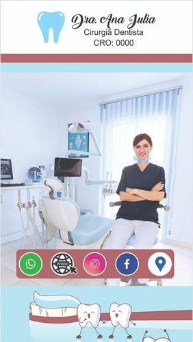cartão de visitas digital inteligente/interativo