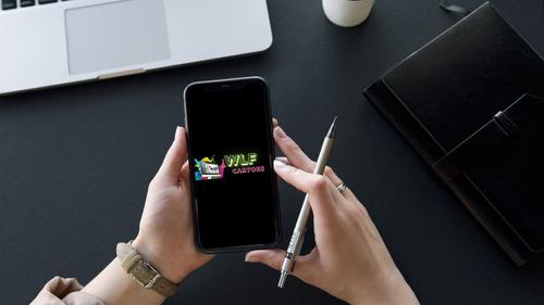 cartão de visitas virtual interativo