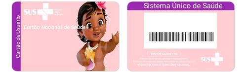 cartão do sus personalizado(apenas a arte digital)