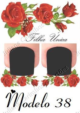 cartão filha única para adesivo de unha artesanal 1000 un