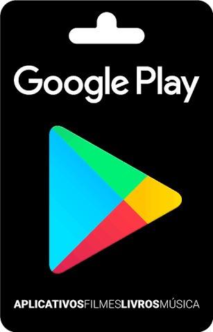 cartão google play 10$ reais / sem juros!