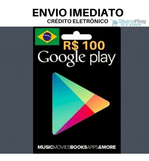 Google Play Gift Card 100 - Gift Ideas