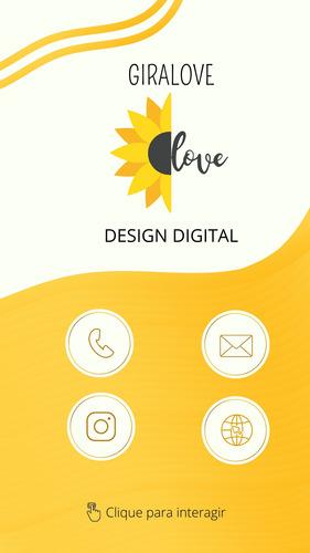 cartão interativo digital