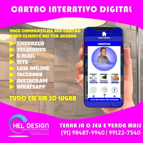 cartão interativo digital para whatsapp.