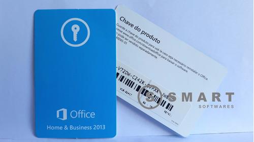 cartão key office home & business 2013