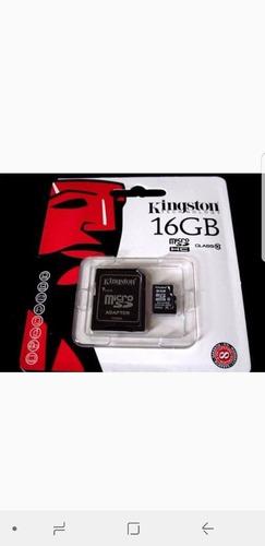 cartão memória 16gb kingston micro sd lacrado original