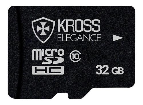 cartão memória 32gb micro sd kross 80 mb/s ultra classe 10