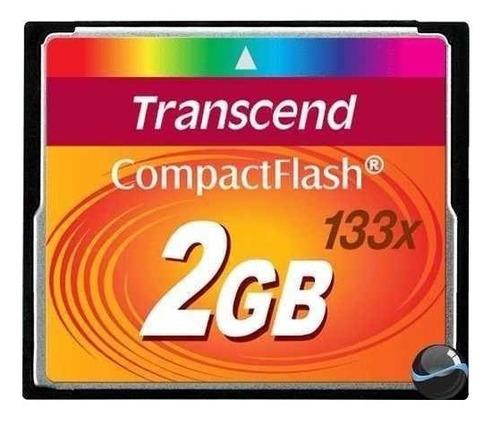 cartão memória compact flash 2gb transcend