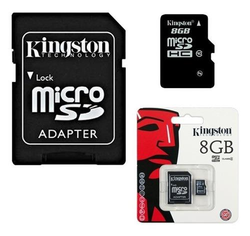 cartão memória kingston 8gb micro