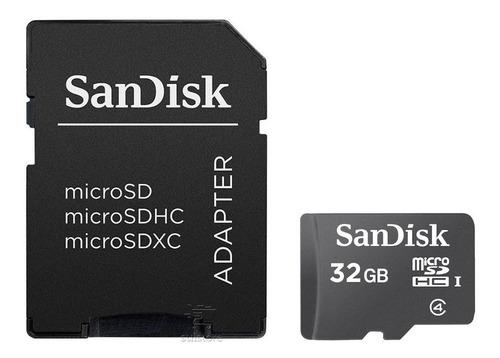 cartão memória micro 32gb sandisk