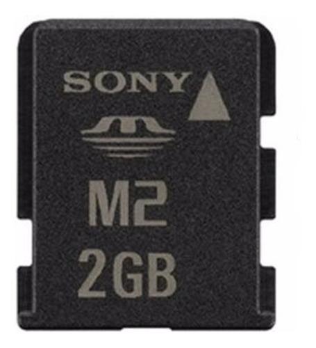 cartão memória micro m2 2gb sony original msa2g