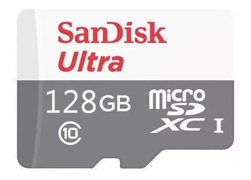 cartão memória micro sd sdxc 128gb sandisk ultra classe 10