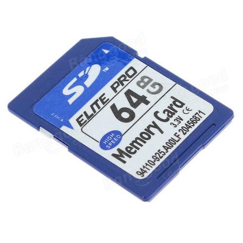 cartão memória pro 64gb câmera