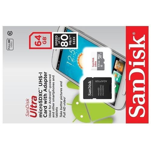 cartão memoria sandisk micro 64gb