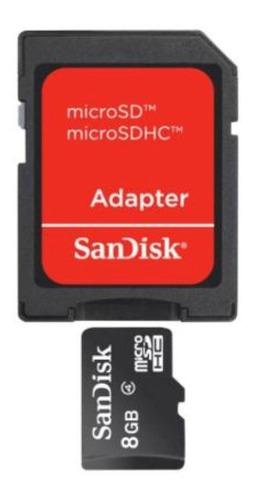 cartão memória sandisk micro sd 8gb lacrado sdhc