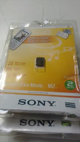 cartão memory stick micro sony