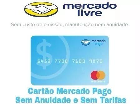 cartão mercado livre sem anuidade mastercard internacional