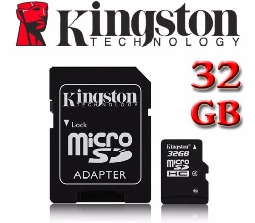 cartão micro 32gb kingston