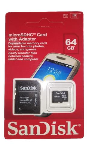 cartão micro sandisk 64gb