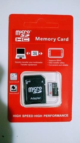 cartão micro sd huawei 1tb, mais dois adaptadores.