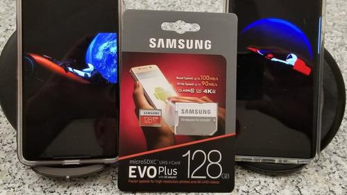 cartão micro sd samsung evo plus 128gb 4k u3 c10 smartphone
