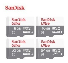 cartão micro sd ultra 32gb classe 10 80mbs sandisk