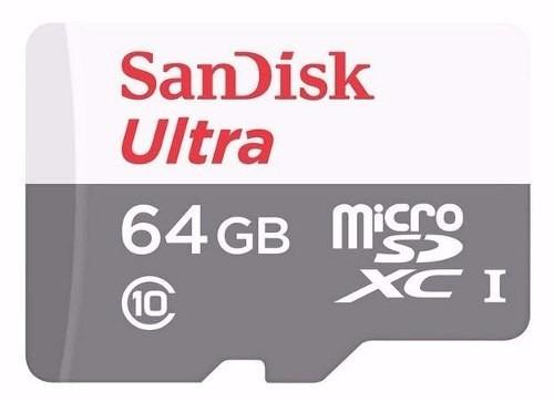 cartão micro sdhc 64gb ultra sd sandisk classe 10 30mb/s