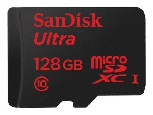 cartão microsd sandisk 128gb classe 10 80mb original lacrado