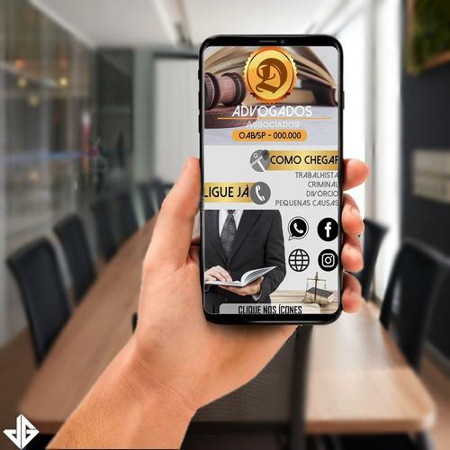 cartão ou menu interativo